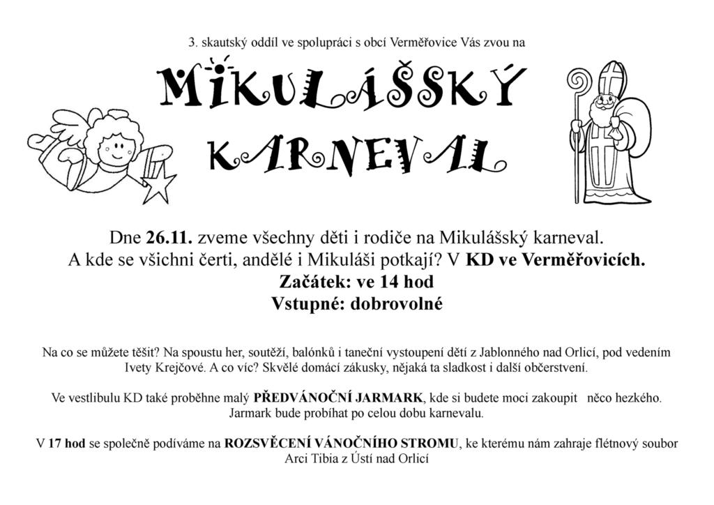 mikulassky-karneval